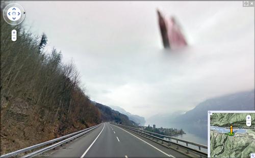 Lo que captaron Google Maps y Google Street View