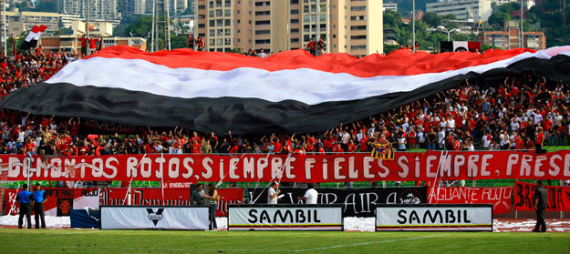 Caracas FC se reserva el derecho de admisión de la afición del Carabobo