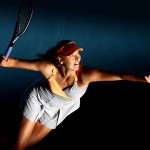 TENNIS: Australian Open-Sharapova vs Razzano