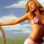 Kaley-Cuoco-With-A-Rope