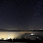 El magnífico brillo de los Alpes