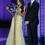 Sofia Vergara and Jim Parsons announce winner at the 62nd annual Primetime Emmy Awards in Los Angeles