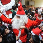 INDIA-RELIGION-CHRISTMAS CELEBRATIONS-ANNA HAZARE-SCHOOL STUDENT