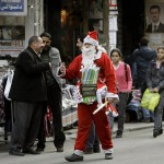 SYRIA-POLITICS-UNREST-CHRISTMAS