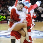 Santa decides Nets cheerleaders are nice