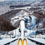 McDonald's, official sponsor of Torino 2006 Winter Olympics (Amsterdam, Netherlands).