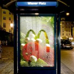 McDonald's and Heye Group in Germany won several awards for their outdoor advertisement,