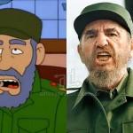 Fidel-Castro_simpsons_www.antesydespues.com.ar