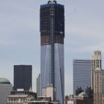 A view shows the One World Trade Center in New York