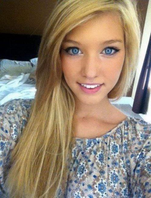 Chica hermosa Facebook de Bellas Mujeres.
