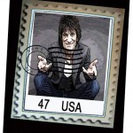Ronnie Wood- Stamps