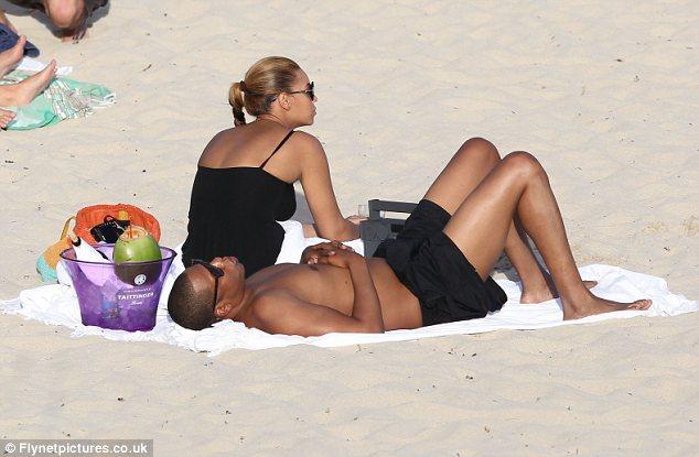 foto beyonce playa: