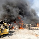 SYRIA-POLITICS-UNREST-BLAST