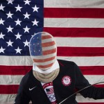 Fencer Alexander Massialas poses for a portrait during the 2012 U.S. Olympic Team Media Summit in Dallas, Texas