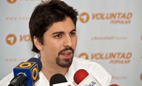 Freddy Guevara apoya encadenados en Altamira