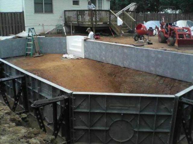 Бассейн на даче своими руками Ремонт и Строительство
