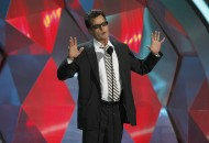 "Charlie Sheen introduces the instant cult classic film ""Project X"" at the 2012 MTV Movie Awards in Los Angeles"