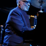 U.S. jazz pianist Ahmad Jamal performs at the Nice Jazz Festival in Nice