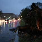 Hurricane Sandy Bears Down On U.S. Mid-Atlantic Coastline