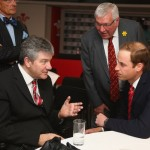 Prince William, Duke of Cambridge Attends The Wales Versus New Zealand Autumn International