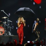 British singer Ora performs during MTV European Music Awards 2012 in Frankfurt