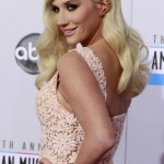Singer Kesha arrives at the 40th American Music Awards in Los Angeles