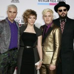 Rock band Neon Trees arrive at the 40th American Music Awards in Los Angeles
