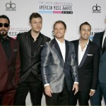 The Backstreet Boys arrive at the 40th American Music Awards in Los Angeles