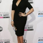 Hillary Scott, of Lady Antebellum, arrives at the 40th American Music Awards in Los Angeles