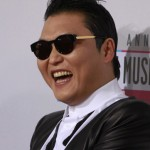 South Korean rapper Psy arrives at the 40th American Music Awards in Los Angeles