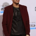 Hip Hop artist J. Cole arrives at the 40th American Music Awards in Los Angeles