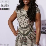 Singer Kelly Rowland arrives at the 40th American Music Awards in Los Angeles