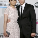 Ginnifer Goodwin and Josh Dallas arrive at the 40th American Music Awards in Los Angeles