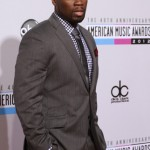 Curtis Jackson, known as rap artist 50 Cent, arrives at the 40th American Music Awards in Los Angeles