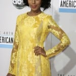 Actress Kerry Washington arrives at the 40th American Music Awards in Los Angeles