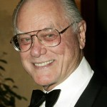File photo of actor Hagman arriving at the Thalians 50th anniversary gala in Los Angeles