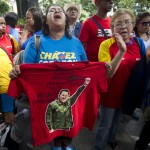VENEZUELA-CHAVEZ-HEALTH-SUPPORTERS