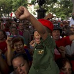 VENEZUELA-CHAVEZ-HEALTH-RALLY