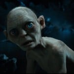 "Publicity photo shows actor Serkis as the character Gollum in a scene from the film ""The Hobbit: An Unexpected Journey"""