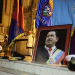 A priest holds a mass to pray for Venezuela's President Hugo Chavez in the Jesus de Miramar church in Havana