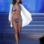 Miss USA Olivia Culpo competes in swimsuit portion of Miss Universe pageant in Las Vegas