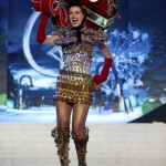 Miss Venezuela Quintero performs onstage at the 2012 Miss Universe National Costume Show at PH Live in Las Vegas