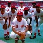con Pete Rose, George Foster, César Gerónimo, David Concepción, Joe Morgan, Ken Griffey Sr y Tany Pérez