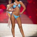 Miss Costa Rica Cascante competes during the Swimsuit Competition of the 2012 Miss Universe Presentation Show at PH Live in Las Vegas