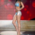 Miss Norway Andersen competes during Swimsuit Competition of the 2012 Miss Universe Presentation Show at PH Live in Las Vegas