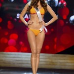 Miss Spain Huisgen competes during Swimsuit Competition of the 2012 Miss Universe Presentation Show at PH Live in Las Vegas