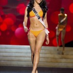 Miss Thailand 2012 Waller competes during the Swimsuit Competition of the 2012 Miss Universe Presentation Show at PH Live in Las Vegas