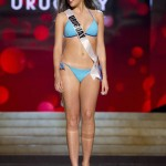 Miss Uruguay Vezzoso competes during Swimsuit Competition of the 2012 Miss Universe Presentation Show at PH Live in Las Vegas