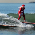 US-HOLIDAY-SURFING-SANTA