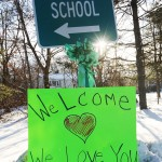 Students Of Sandy Hook Elementary Return To Class For First Time Since Shooting